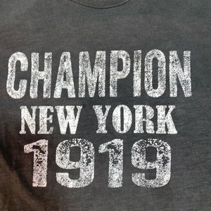 Vintage Champion New York Muscle T-shirt